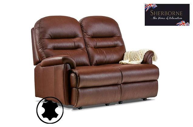Sherborne Keswick Leather Petite 2 Seater Sofa