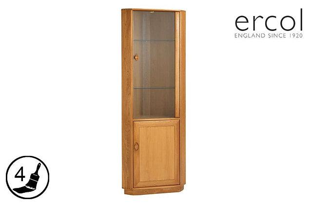 ercol Windsor Corner Display Cabinet