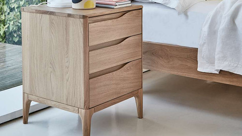 Ercol Rimini Bedroom Furniture - Wardrobes, Chest of Drawers, Bedside Tables, Ottomans & Bedsteads   Gordon Busbridge Furniture Store   Hastings, Eastbourne, Bexhill & Seaford