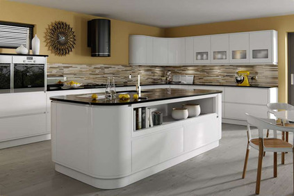 Marpatt Contemporary Collection - Airo in White gloss.