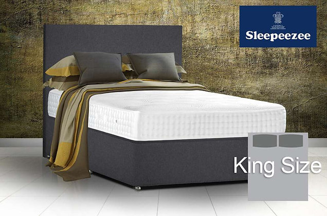 Sleepeezee Royal Backcare 2000 King Size Divan Bed