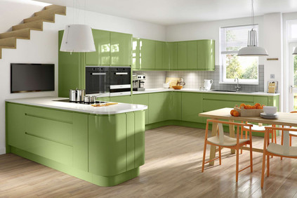 Marpatt Contemporary Collection - Airo in Ultra Green