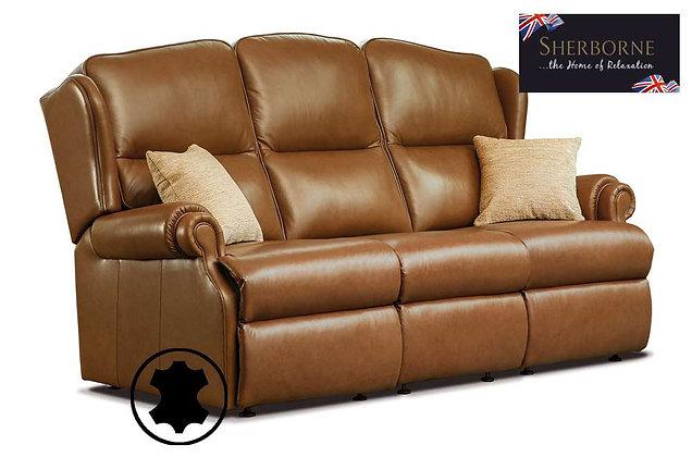 Sherborne Claremont Leather 3 Seater Sofa