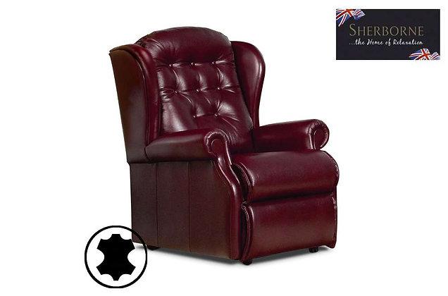 Sherborne Lynton Leather Small Armchair