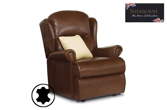 Sherborne Malvern Leather Standard Armchair