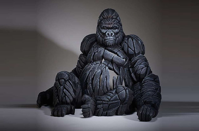 Edge Sculpture Gorilla Figure