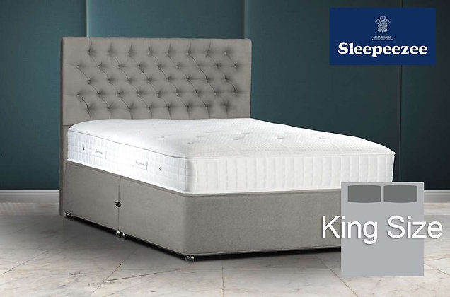Sleepeezee Sensoria Sunset 1400 King Size Divan Bed