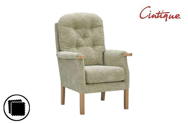 Cintique Eton Petite Armchair - Average Height