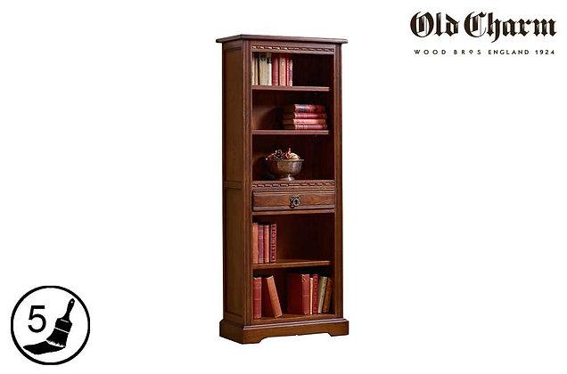 Old Charm Narrow Bookcase