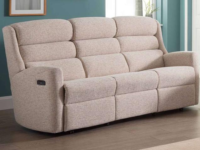 Crete 3 Seater Recliner Sofa | Gordon Busbridge Furniture & Beds Store | Hastings, Eastbourne, St Leonards on Sea, Bexhill & Seaford
