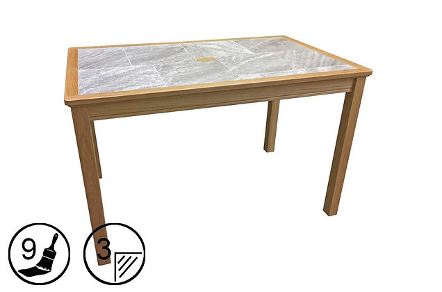 Trentham Large Dining Table - Tile Top