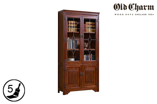 Old Charm Display Cabinet / Bookcase