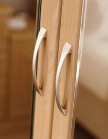 Hepplewhite Prima Square handle detail