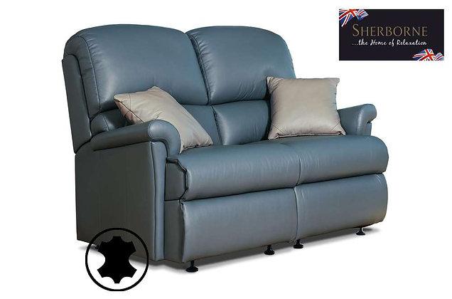 Sherborne Nevada Leather 2 Seater Sofa