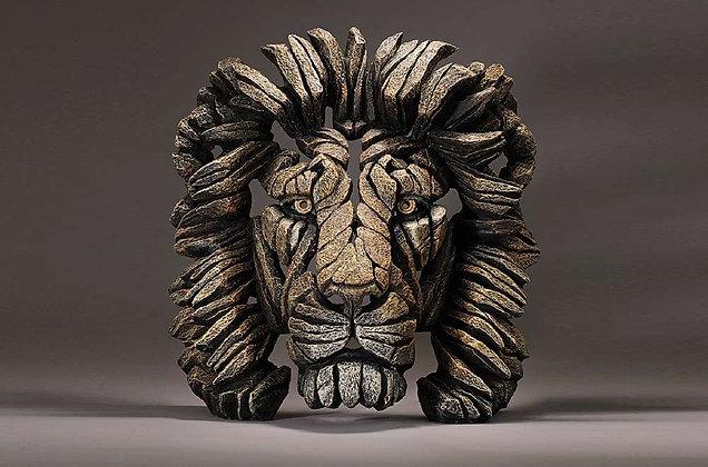 Edge Sculpture Lion Bust - Savanah