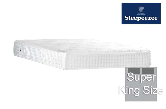 Sleepeezee Royal Backcare 2000 Super King Size Mattress