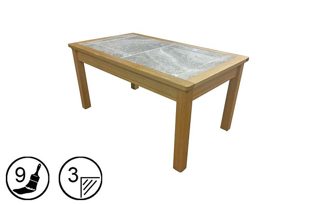 Trentham Small Coffee Table - Tile Top