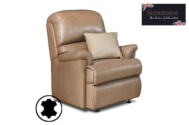Sherborne Nevada Leather Small Armchair