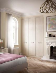 Hepplewhite Solo wardrobe in Avola White