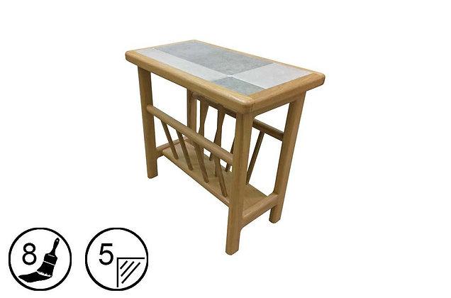 Hanley Magazine Table - Tile Top