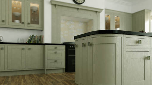 English Rose Traditional Fitted Kitchen