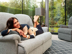 Sherborne Nevada Fabric Sofas & Chairs | Gordon Busbridge Furniture | Hastings, Eastbourne, Seafrod, Bexhill, St Leonards on Sea