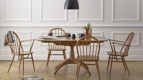 Ercol Windsor Living & Dining - Dining Tables, Chairs, Display Cabinets, Sideboards, Cupboards, TV Units, Console & Hall Tables, Lamp & Side Tables | Gordon Busbrdige Furniture Store | Hastings, Eastbourne, Seaford & Bexhill