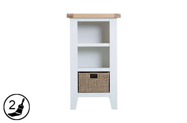Settle Small Narrow Bookcase