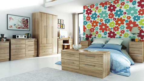 Milford Bedroom Furniture, Wardrobes, Chest sof Drawers, Bedside Cabinets, Dressing Tables, Stool, Mirrors & Ottomans | Gordon Busbridge Furniture Store | Hastings, Eastbourne, Seaford & Bexhill
