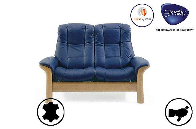 Stressless Windsor 2 Seater High Back Recliner Sofa