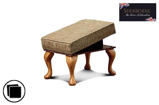 Sherborne Buckingham Legged Footstool