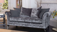 Versailles 3 Seater Fabric Pillow Back Sofa | Gordon Busbridge Furniture & Beds Store | Hastings, Eastbourne, St Leonards on Sea, Bexhill & Seaford