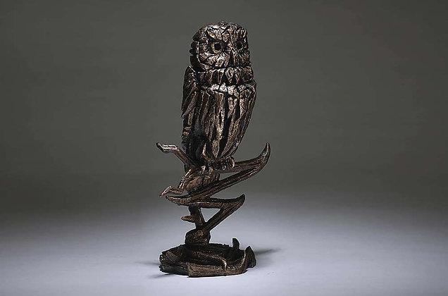 Edge Sculpture Owl Figure - Golden