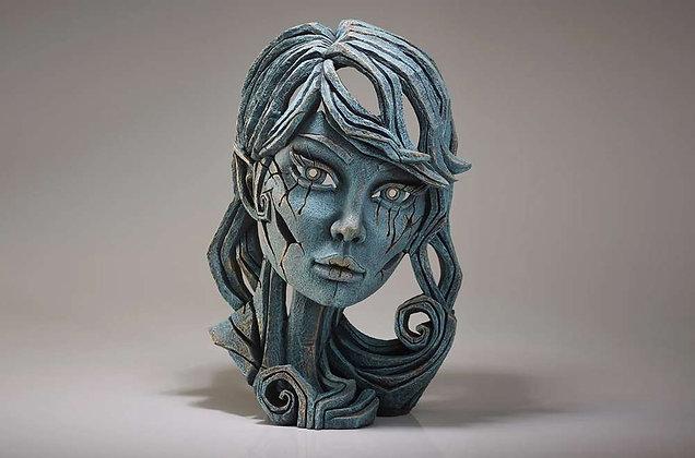 Edge Sculpture Elf Bust - Aqua
