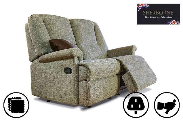 Sherborne Milburn Small 2 Seater Recliner Sofa