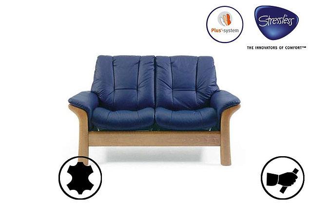 Stressless Windsor 2 Seater Low Back Recliner Sofa