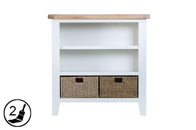 Settle Small Wide Bookcase