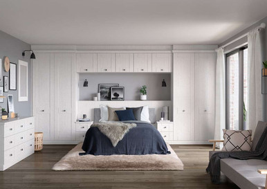Hepplewhite Kingsbury roomset White Ash