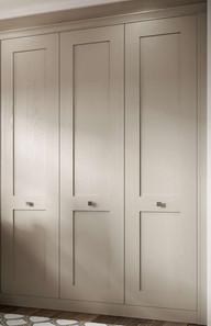 Hepplewhite Milton wardrobe in Rich Praline