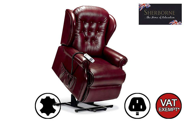 Sherborne Lynton Leather Standard Lift & Rise Care Recliner Chair