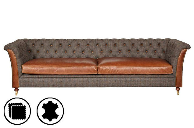 Heritage Nuffield 4 Seater Sofa
