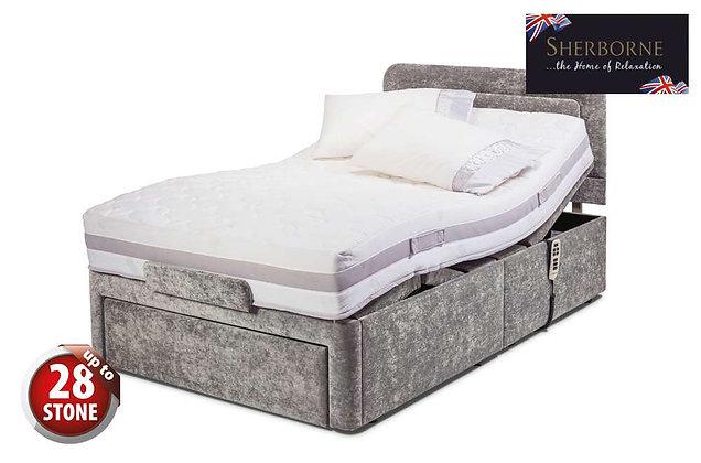 Sherborne Dorchester 120cm Single Head & Foot Adjustable Divan Bed