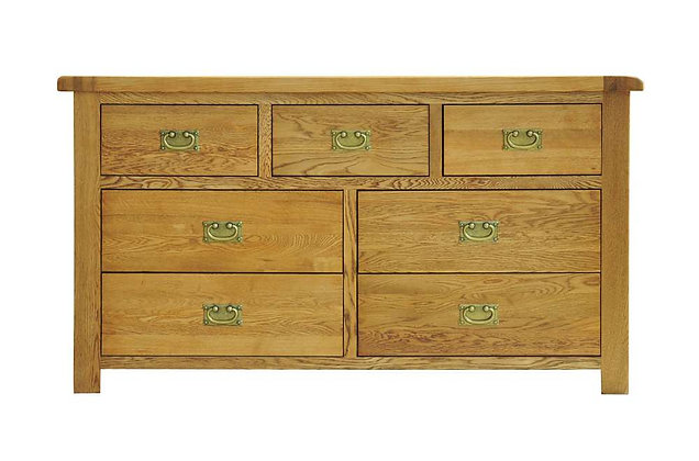 Rustic Charm 3 Over 4 Drawer Chest
