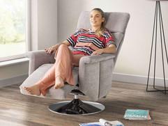 City Swivel Recliner Chairs | Gordon Busbridge Furniture | Hastings, Eastbourne, Seafrod, Bexhill, St Leonards on Sea