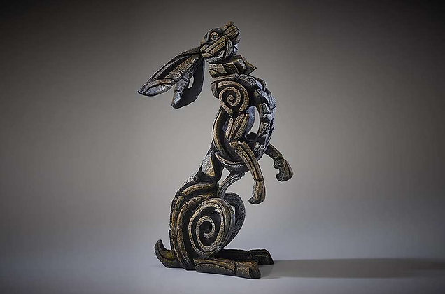 Edge Sculpture Hare Figure - Star Gazer