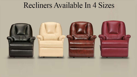 Sherborne Milburn Leather Recliner Chairs, Royale, Standard, Small & Petite | Gordon Busbridge Furniture & Beds Store | Hastings, Eastbourne, St Leonards on Sea, Bexhill & Seaford