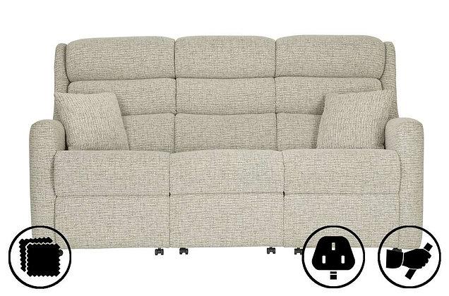 Crete 3 Seater Recliner Sofa