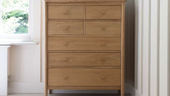 Ercol Teramo Bedroom Furniture - Wardrobes, Chest of Drawers, Bedside Tables, Ottomans & Bedsteads | Gordon Busbridge Furniture Store | Hastings, Eastbourne, Bexhill & Seaford