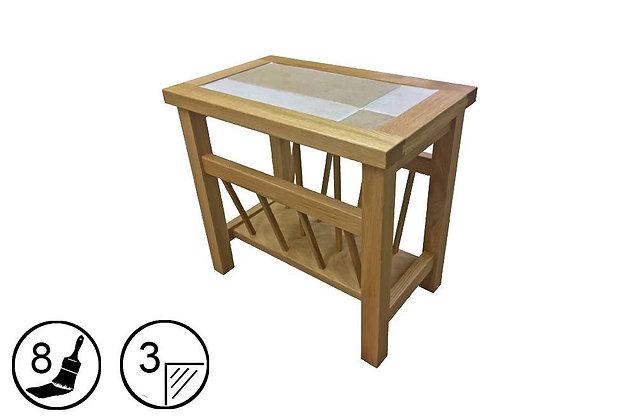 Bearstone Magazine Table