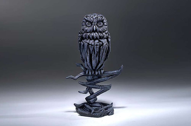 Edge Sculpture Owl Figure - Midnight Blue
